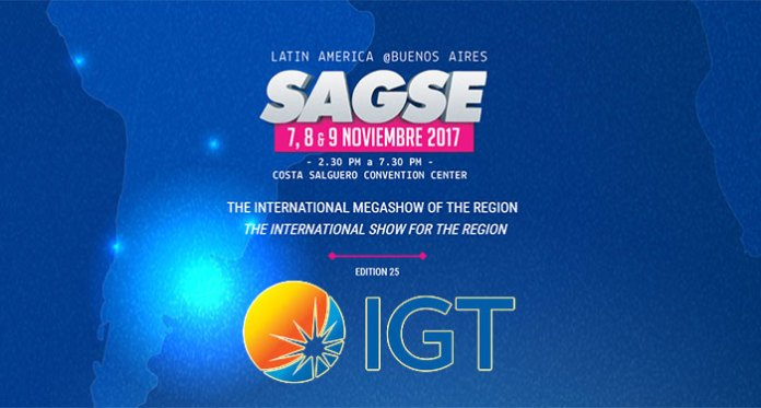 IGT Set to Display its Array of Gaming Cabinets at SAGSE