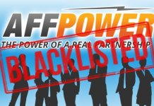 Affpower Blacklisted