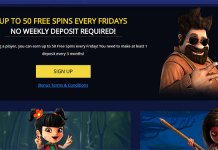 Get Spoiled with 50 Free Spins at Betchain Casino