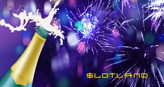 Welcome 2018 With Slotland Casino Free Cash Bonuses