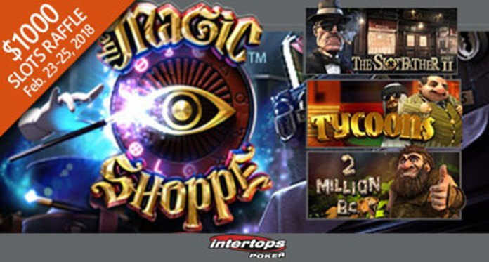 Join Intertops $1000 Slots Raffle on Select Betsoft Slots