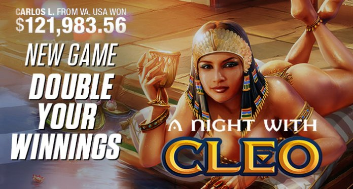 Lucky Night with Cleo Pays Out Nearly $122K at Bovada Casino