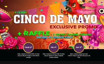 Join NextCasino, Celebrate Cinco de Mayo with Three Days of Bonuses