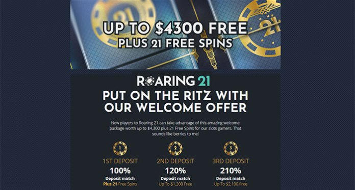 CPR Weekly, New Player Bonus at Roaring21 Casino and More!