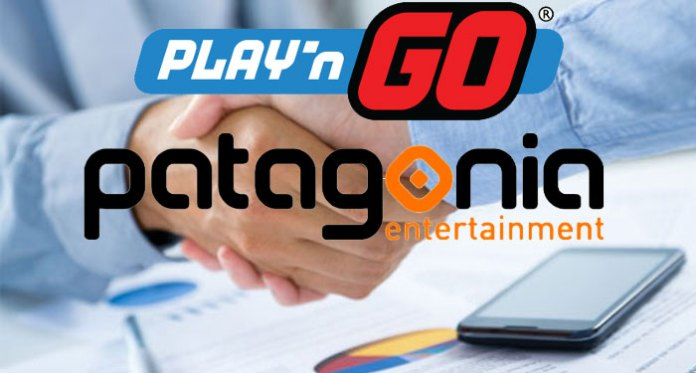 Play'n Go And Patagonia Entertainment Content Agreement Deal