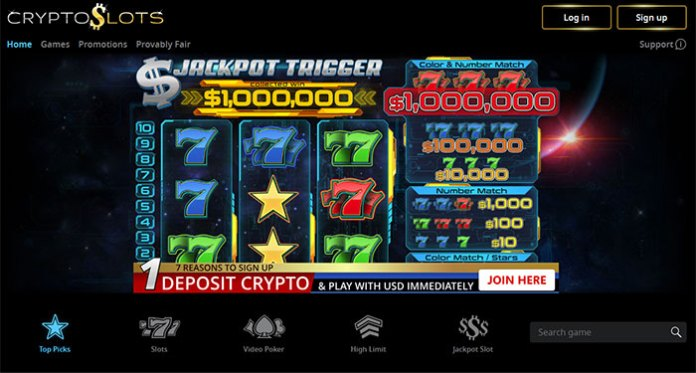 Slotland Entertainment S.A., Launches New CryptoSlots Casino