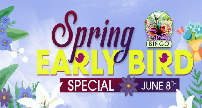 Be the Early Bird at Downtown Bingo for Fabulous Cash Prizes