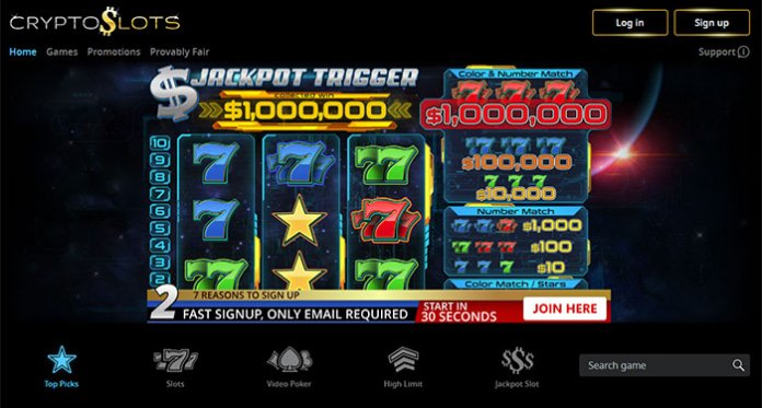 Slotland Casino Launches New CryptoSlots Casino Brand