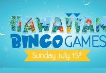 Its the Hawaiian Bingo Games at Downtown Bingo, Win Cash Prizes