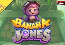 Intertops Casino Launches New Banana Jones' Quest for the Crystal Banana