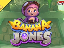Intertops Casino Launches New Banana Jones' Quest for the Crystal Banana