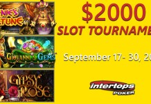 Join Intertops Poker for Two Weeks of Betsoft Slot Tournament