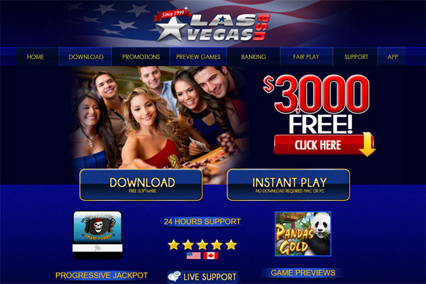 Las Vegas USA Casino Review