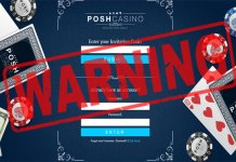 Posh Casino Scam