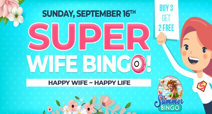 Wife Appreciation Day September 16th at Downtown Bingo