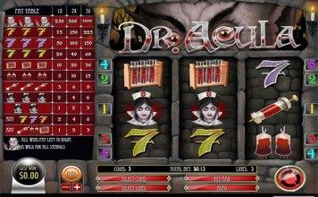 Dr. Acula Slot Game