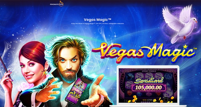 Pragmatic Play Releases its Collapsible New Vegas Magic Slot