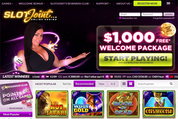 SlotJoint Online Casino Review