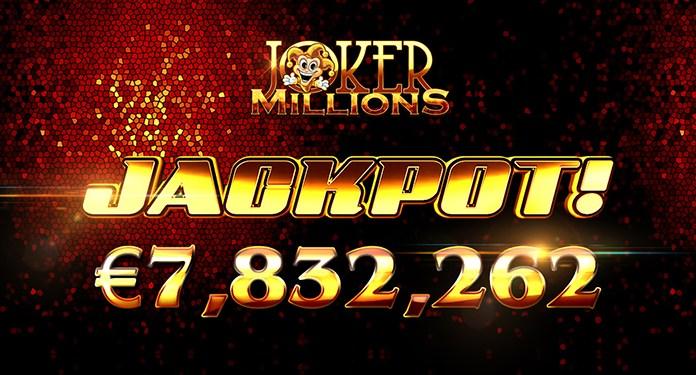 Lucky LeoVegas Players Cleans Up on Joker Millions Jackpot