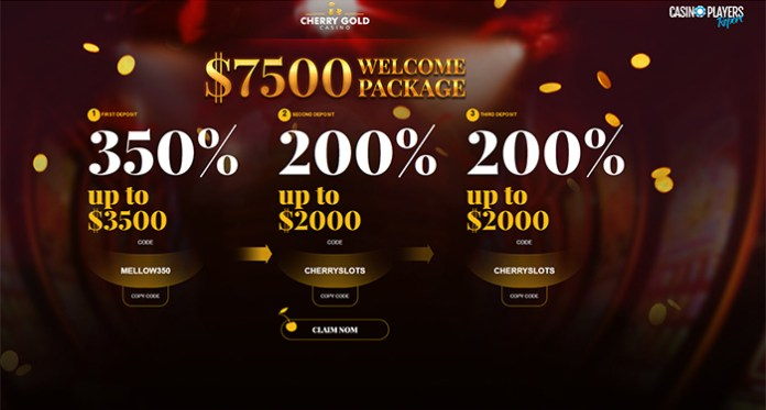 Holiday Bonuses, New Slots & Our Review of Cherry Gold Casino!