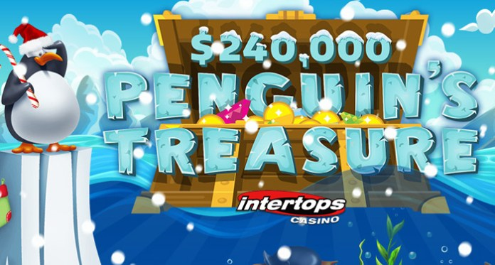 Intertops Casino $240K Penguin's Treasure - $30K in Weekly Giveaways