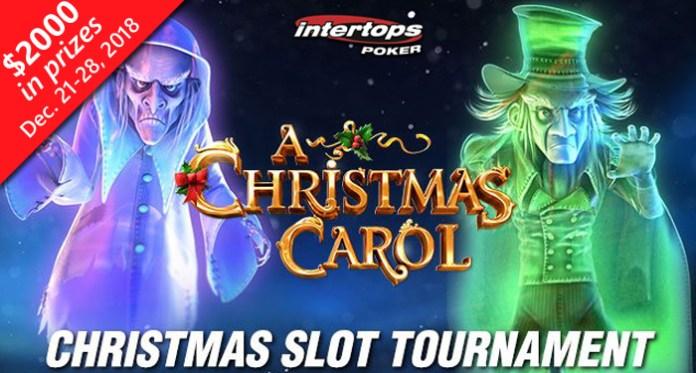 $2000 Christmas Slots Tournament featuring Christmas Carol Starts Friday