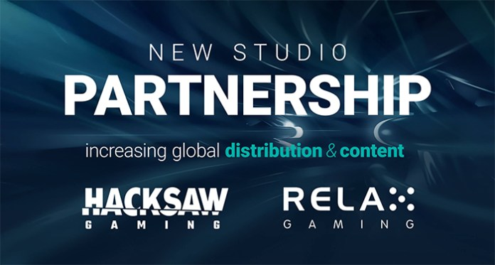 Relax Gaming and Hacksaw Gaming Ink an Instant Games Deal