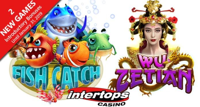 Enjoy Intro Bonuses on RTG Slots Fish Catch and Wu Zetian