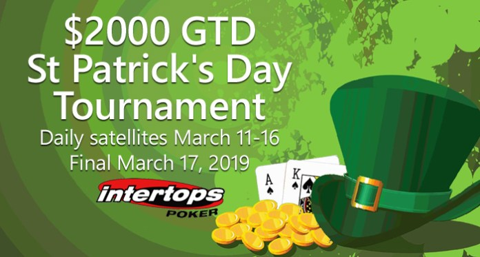 Weekly Tournaments, Free Spins and New Slots, Celebrate St. Patty's!