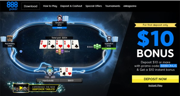 888 Holdings Launches its Next Generation Poker Platform This Week