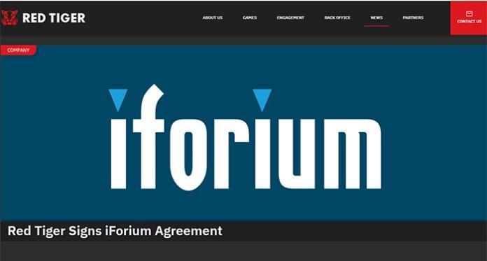 Red Tiger Gaming Teams Up with Iforium's Gameflex Platform