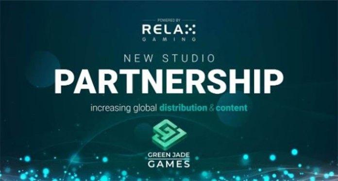 New Studio Partnership Between Green Jade Games and Relax Gaming