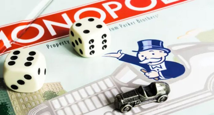 The Monopoly Of Online Casinos
