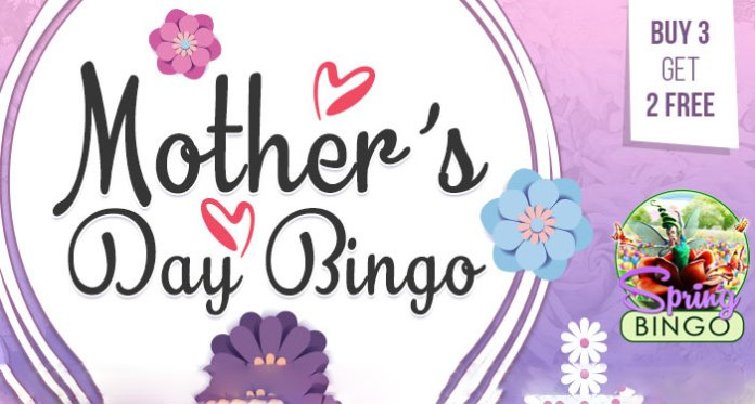 Share the Mother's Day Love with Your Bingo Roomies