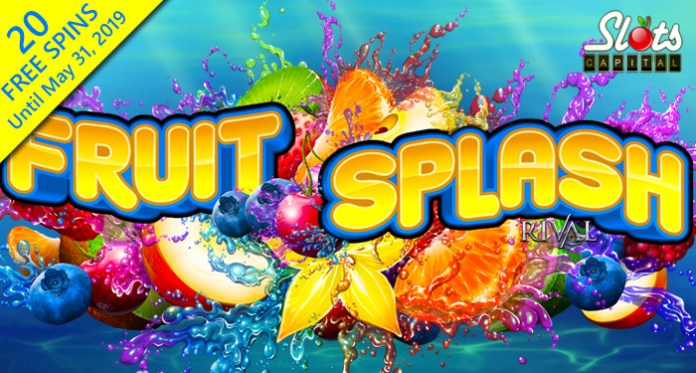 First 20 Spins on New Fruit Splash Slot are Free at Slots Capital