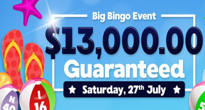 Downtown Bingos Big $13,000 Bingo Event is this Saturday July 27