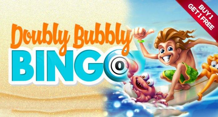 Win When You Play Doubly Bubbly Bingo at Downtown Bingo!