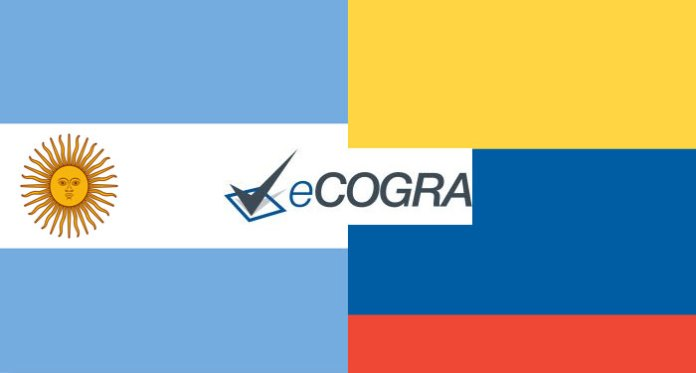 eCOGRA Receives Regulatory Approval in Colombia and Argentina
