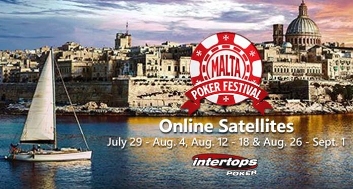 Join Intertops Poker for The €500K GTD Malta Poker Festival