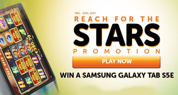Deposit at WildSlots for a Chance to Win a Samsung Galaxy Tab S5e!