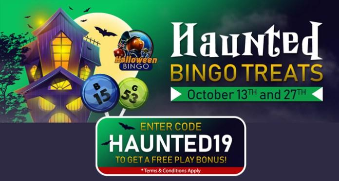 Haunted Bingo Treats Sunday October 27 at Downtown Bingo