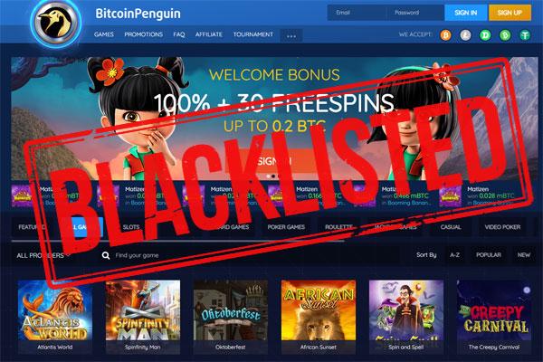 BitcoinPenguin Casino Scam
