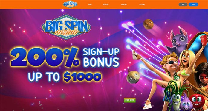 Get Huge Payouts and Special Weekly Offers at Big Spin Casino