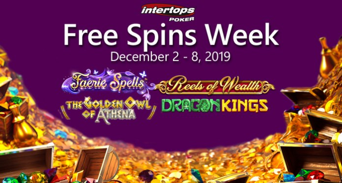 Free Spins Week: Intertops Poker up to 100 Free Spins