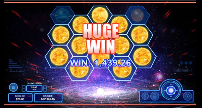 Intertops Has Out of This World Bonus on New Pulsar Slot