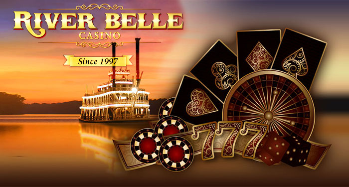 Play River Belle Casino with $800 Extra with Your First Three Deposits