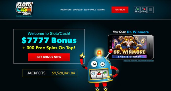 Play to Win with Sloto'Cash Casinos Daily Cashback Promotions