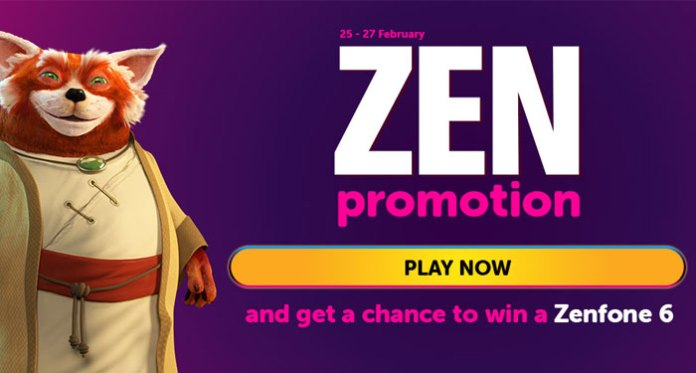 Become a Zen Player with Three Bonuses + Zenfone 6 Giveaway