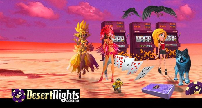 Desert Nights Casinos 177% Monthly Reload is Still up for Grabs