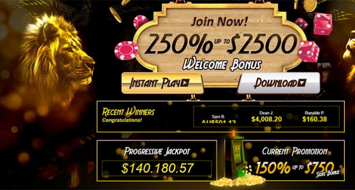 Huge Monthly Promotions Await at Golden Lion Casino